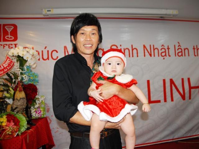 Danh hài Hoài Linh thú nhận lên chức bố ở tuổi 42
