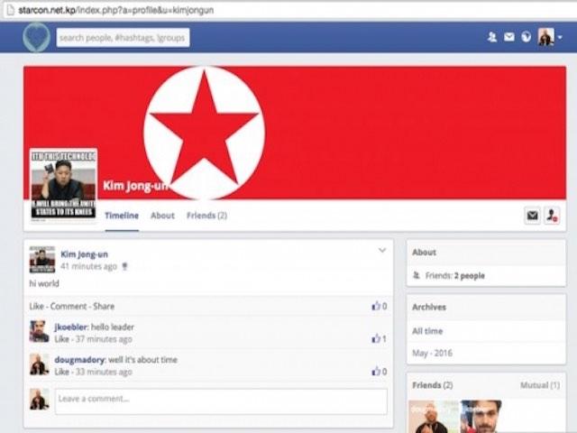"""Mạng xã hội Facebook nghi của Triều Tiên bị hack """"ngọt lịm"""""""