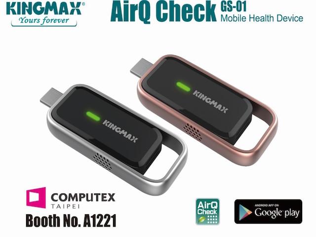 """""""Chiếc USB"""" tí hon giúp kiểm tra độ ô nhiễm không khí"""