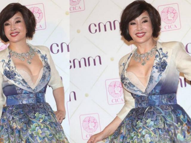 Lưu Hiểu Khánh ăn mặc quá táo bạo ở tuổi 65