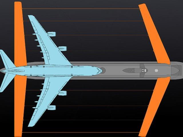 Nga chế tạo tàu ngầm khổng lồ gấp đôi siêu máy bay A380