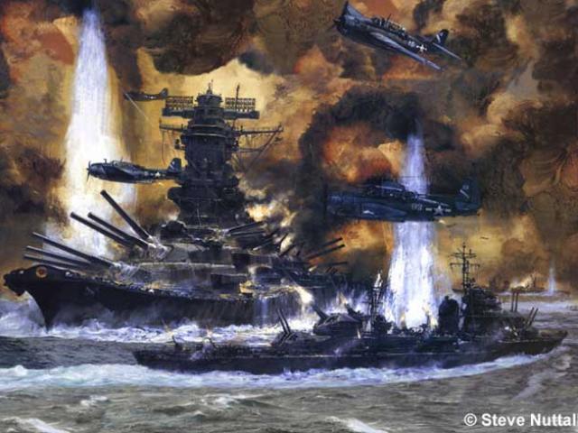 Trận đánh tan tành siêu chiến hạm Nhật, 2.500 người chết