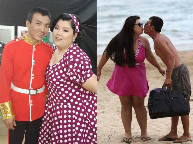 Hơn ông xã 40 kg, Tuyền Mập bị chê ăn hết phần chồng con