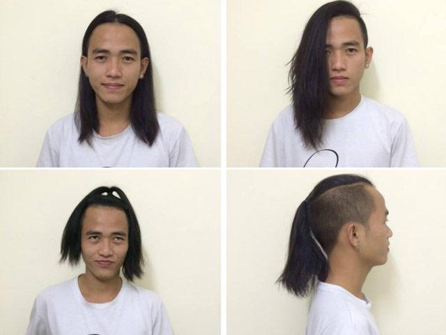 """Chàng trai """"dở khóc dở cười"""" chỉ vì nuôi tóc dài"""