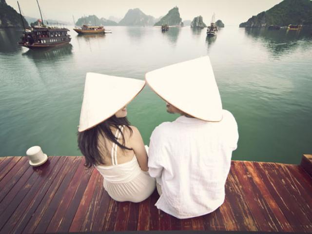 Đi vòng quanh thế giới trong suốt 3 năm, cặp đôi tự chụp bộ ảnh cưới đẹp lung linh khiến dân mạng trầm trồ