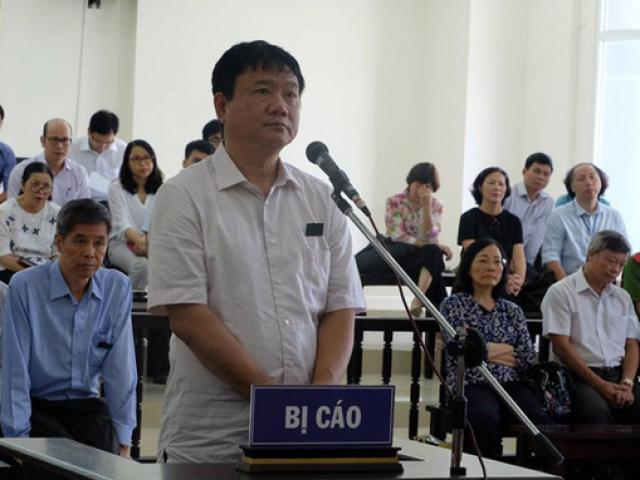 Ông Đinh La Thăng bị tòa tuyên y án 18 năm tù, bồi thường 600 tỉ đồng