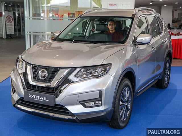 Cận cảnh Nissan X-Trail 2019 mới với 4 phiên bản tại Malaysia