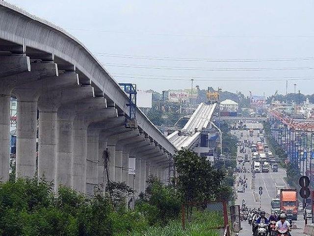 Ngưng đào hầm metro số 1 ở Sài Gòn vì lún nền đất