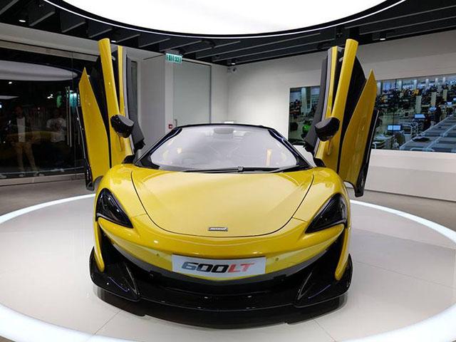 Siêu phẩm McLaren 600LT Spider chào sân các Đại gia Hồng Kông với giá khởi điểm 4,97 triệu đô