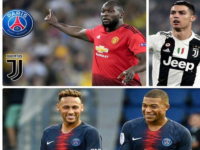 """Lukaku """"vớ bẫm"""": Mưu rời MU làm đồng đội Ronaldo hoặc Mbappe - Neymar?"""