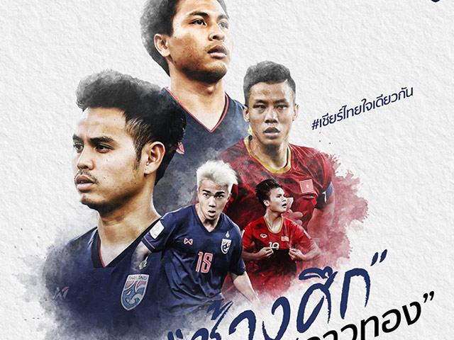 ĐT Thái Lan muốn thắng Việt Nam để vẫn là số 1 Đông Nam Á ở King Cup?