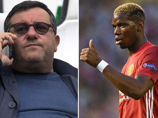 """Siêu """"cò"""" hại Pogba hết cửa về Juventus: Không tới Real phải ở lại MU"""