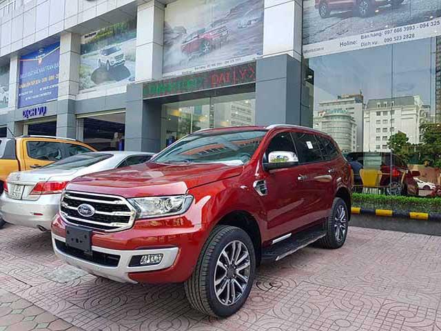 Bảng giá xe Ford Everest 2019 lăn bánh - Ford hỗ trợ mua xe trả góp lãi suất hấp dẫn