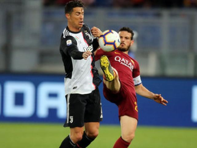 AS Roma - Juventus: Ronaldo mừng hụt, 2 đòn đau choáng váng