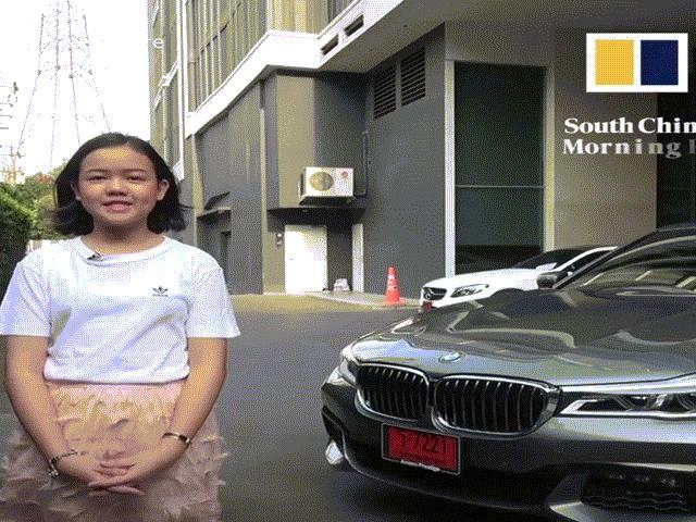 """Vlogger Thái Lan 12 tuổi tự sắm """"xế sang"""" mừng sinh nhật"""