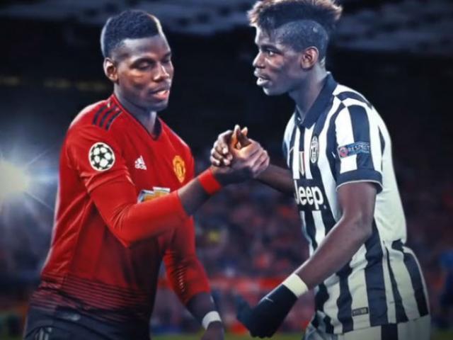 """Pogba bất ngờ về Turin: """"Bom tấn"""" mở đường rời MU, tái hợp Juventus"""