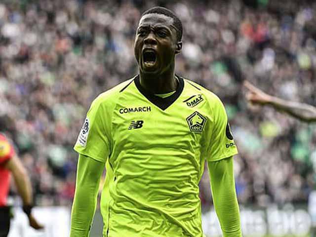 Nicolas Pepe: Mục tiêu MU tiếp bước Drogba ở Ngoại hạng Anh xuất sắc cỡ nào?