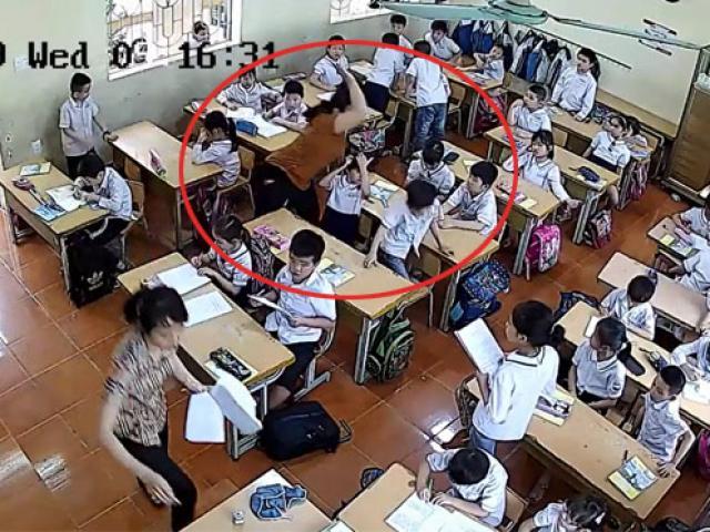 Giáo viên chủ nhiệm cùng đánh học sinh tới tấp có bị xử lý?