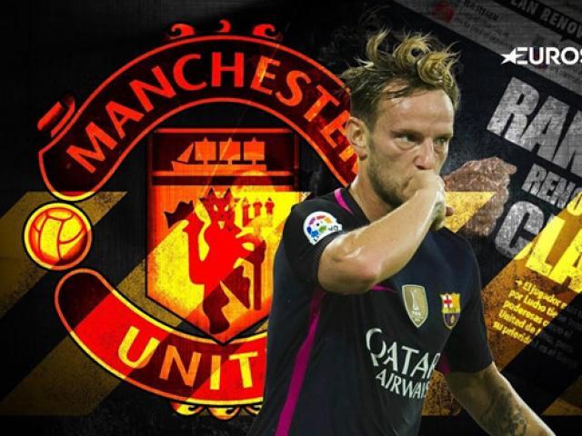 """Chuyển nhượng MU 23/5: """"Quỷ đỏ"""" sáng cửa đón Rakitic từ Barcelona"""
