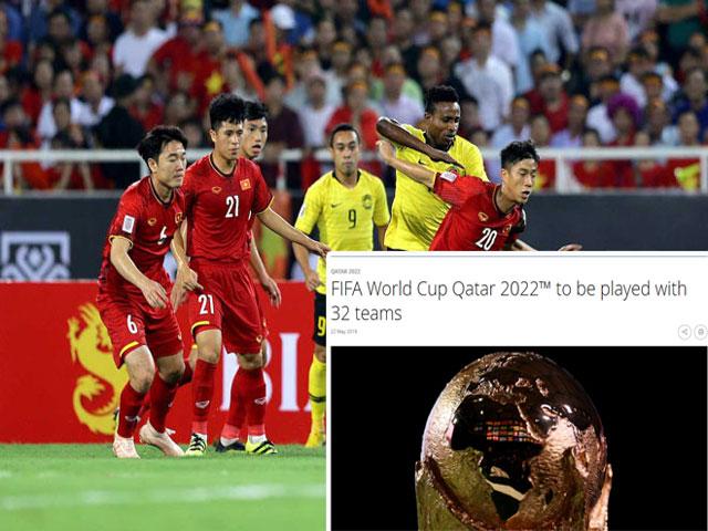 Cơ hội Việt Nam dự World Cup 2022 ra sao sau khi FIFA chính thức chốt số đội