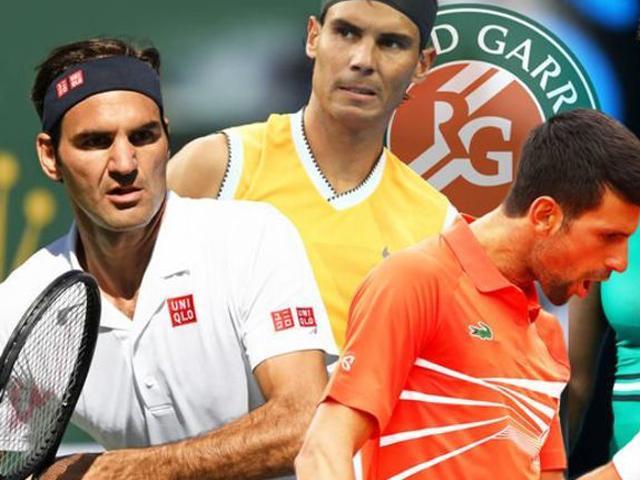 Lịch thi đấu tennis giải Roland Garros 2019 - đơn nam