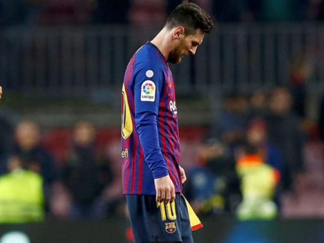 """Barca mất cúp Nhà Vua, Messi vẫn mơ """"Bóng Vàng"""": Còn 1 canh bạc cực khó"""