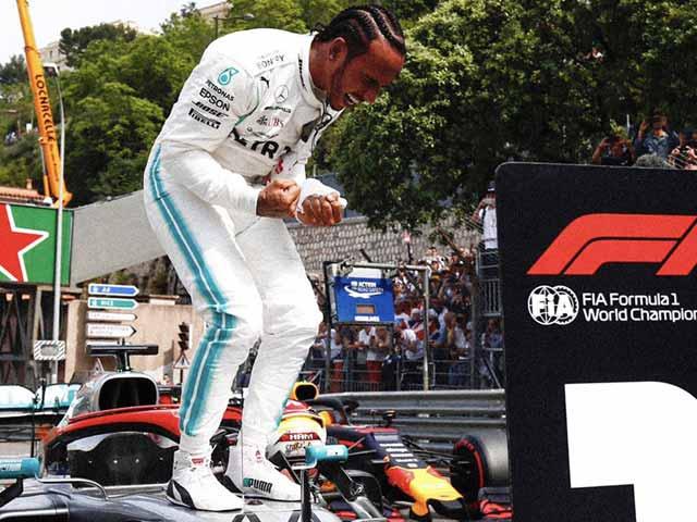 Đua xe F1, phân hạng Monaco GP: Hamilton trở lại đỉnh, Mercedes chạm kỷ lục