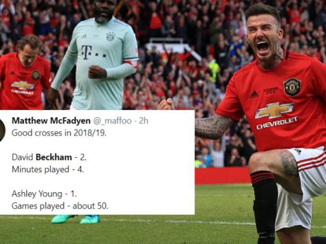 """MU rực rỡ: Beckham cho Sanchez """"sáng mắt"""", fan đòi Solskjaer thôi làm HLV"""