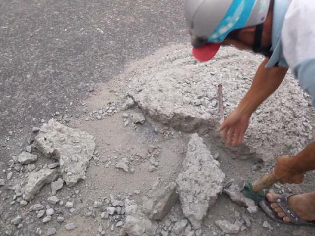 """Vụ 2 thợ đá gây """"sốt"""" mạng xã hội: Do đơn vị quản lý đường chưa phát hiện kịp"""