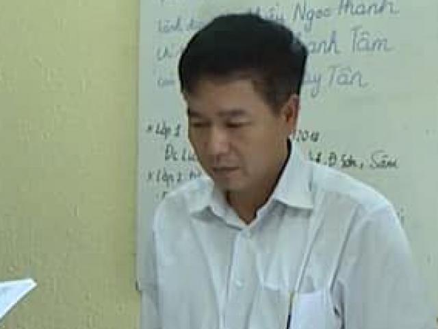 NÓNG: Khai trừ Đảng Phó Giám đốc Sở GDĐT Sơn La vụ gian lận điểm thi