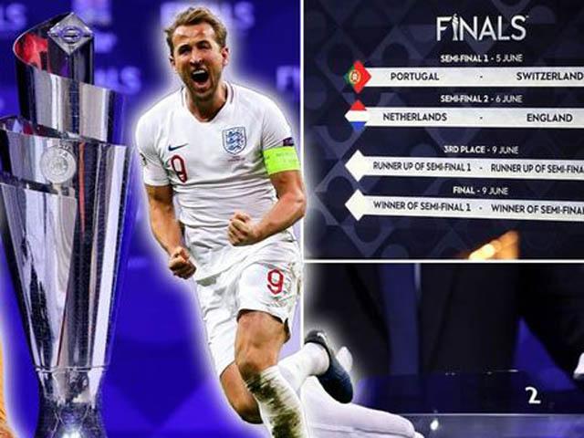 """ĐT Anh ôm mộng vô địch Nations League: Coi chừng """"ngã đau"""" vì cúp C1"""