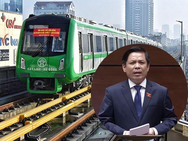 Đại biểu hỏi đường sắt Cát Linh - Hà Đông bao giờ khai thác, Bộ trưởng Nguyễn Văn Thể nói gì?