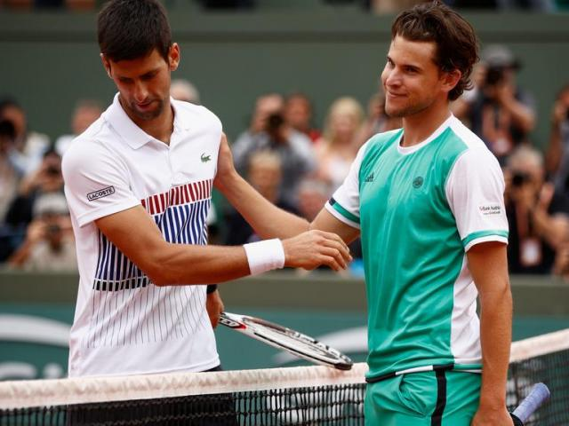 Trực tiếp bán kết Roland Garros, Djokovic - Thiem: Điểm break nghiệt ngã (KT)