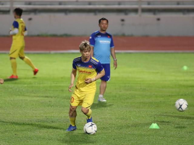 ĐT Việt Nam tập đấu chung kết King's Cup: Công Phượng có suất đá chính?