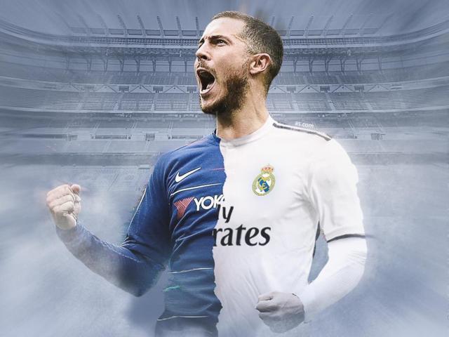 """Bom tấn"" Hazard đến Real: Zidane xếp thay Ronaldo hay chiếm chỗ Bale?"
