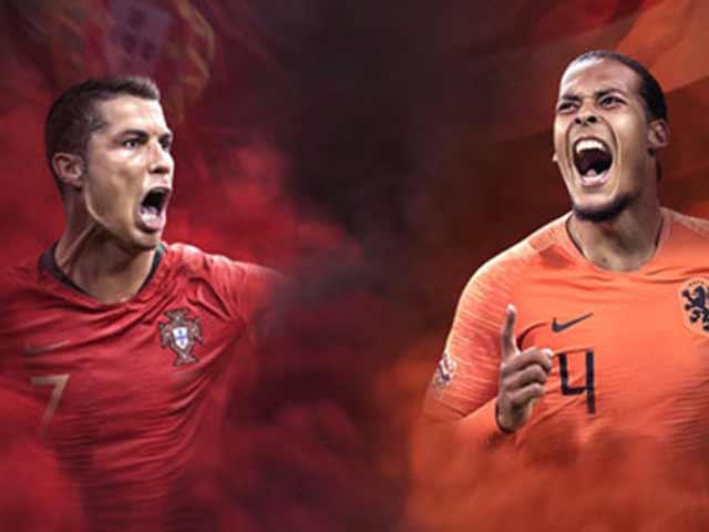 Bồ Đào Nha đấu Hà Lan: Ronaldo có thắng nổi Van Dijk 65 trận chưa bị vượt qua?