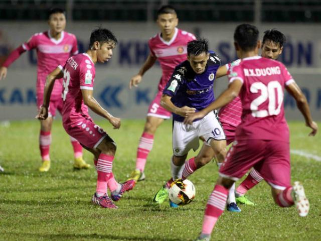 Trực tiếp bóng đá Hà Nội - Sài Gòn: Văn Quyết, Văn Đại thay Quang Hải, Thành Lương