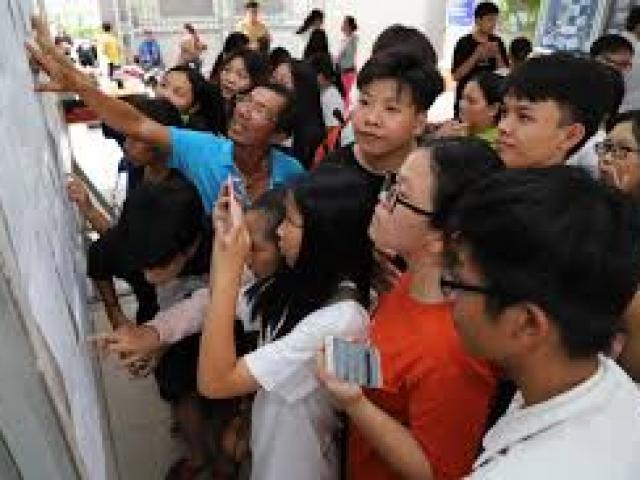Điểm chuẩn vào lớp 10 tại các trường trung học phổ thông công lập ở Hà Nội