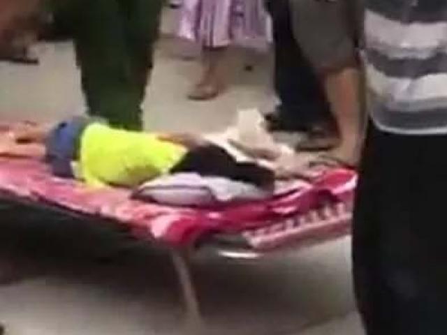 Bé 3 tuổi bị xe đưa đón của trường mầm non tông tử vong