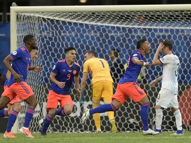 Argentina – Colombia: Hiệp 2 kinh hoàng, Messi tắt lịm (Copa America)