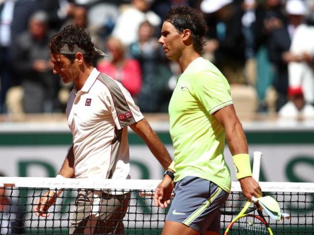 """Bảng xếp hạng tennis 17/6: Federer bứt tốc hạ Nadal, """"nam thần"""" gây sốc top 30"""