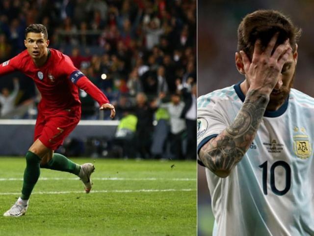 Messi thua thảm Copa America: Ước được như Ronaldo ở ĐTQG