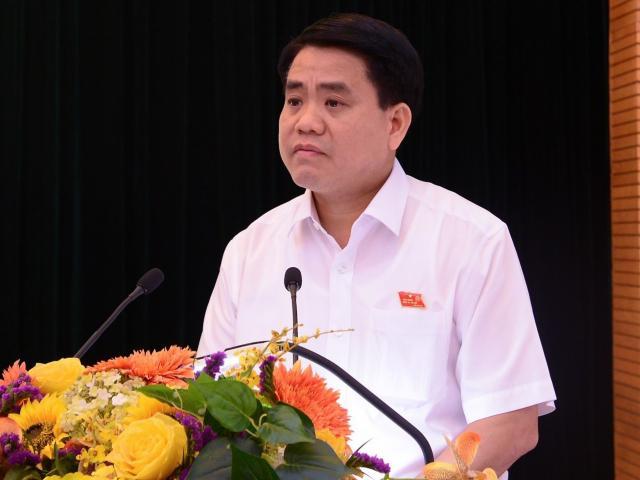 """Chủ tịch Chung: """"Đập cả tòa nhà 8B Lê Trực cũng phải làm, vì sai từ móng"""""""