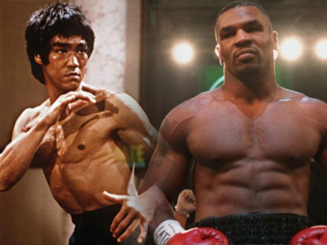 Kinh điển clip UFC: Mike Tyson tung seri đấm knock-out Lý Tiểu Long