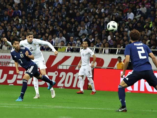 Chi tiết Uruguay - Nhật Bản: Nỗ lực phút cuối (KT)