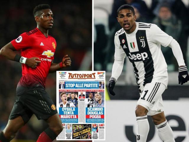 """Pogba làm loạn đòi tới Juventus: MU tống khứ vì """"Robben mới"""""""