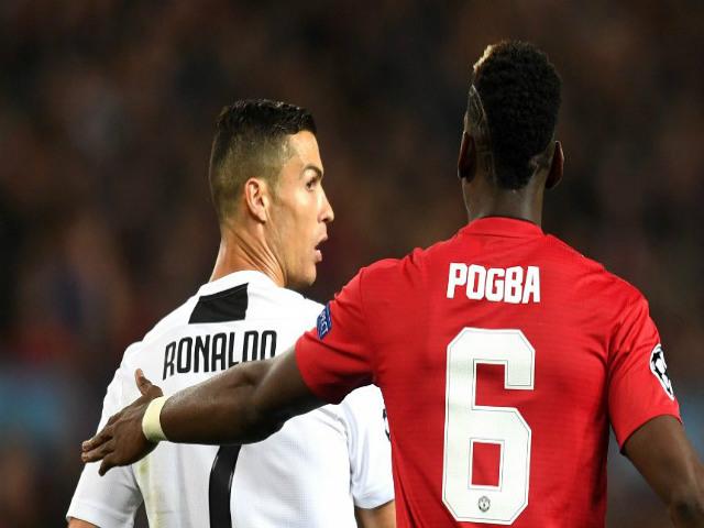 Cú sốc MU: Pogba gọi điện cho HLV Sarri, mơ đá cặp Cristiano Ronaldo