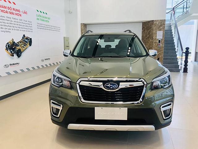 Subaru Forester chính thức về Việt Nam với 2 biến thể, nhiều tính năng và trang bị an toàn