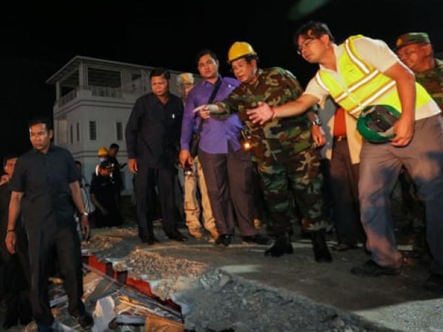 Sập nhà 7 tầng khiến 28 người chết: Campuchia bắt nhà thầu TQ