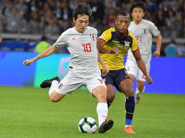 """Ecuador – Nhật Bản: Niềm vui khởi đầu, hụt hẫng vì """"Messi Nhật"""" (Copa America)"""
